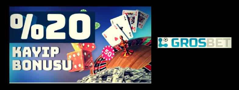 Grosbet Casino Kayıp Bonusu