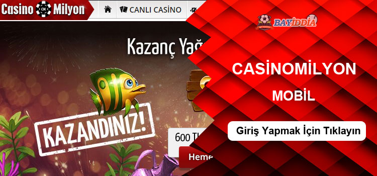 casinomilyon mobil