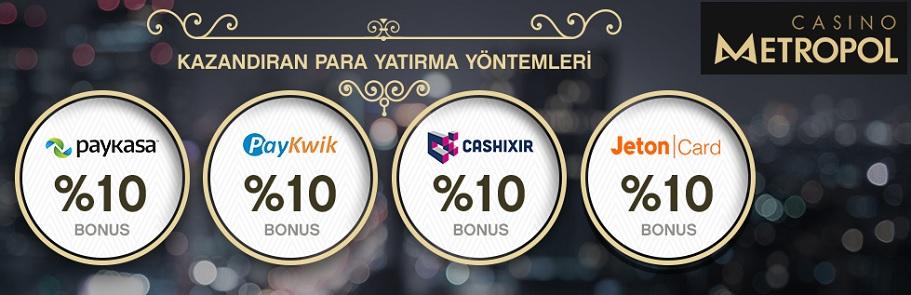 casinometropol para yatırma bonusu