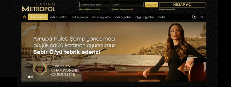 Casinometropol Para Yatırma Ve Para Çekme