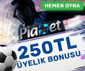 Piabet 250 TL bonus